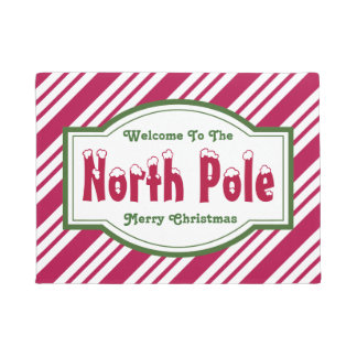 Christmas Front Door Decorations - Merry Christmas Doormats