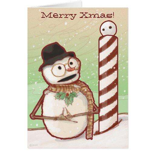 North Pole Xmas card