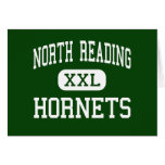 North Reading - Hornets - High - North Reading Greeting Cards