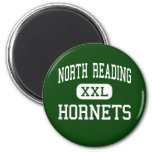 North Reading - Hornets - High - North Reading Fridge Magnet