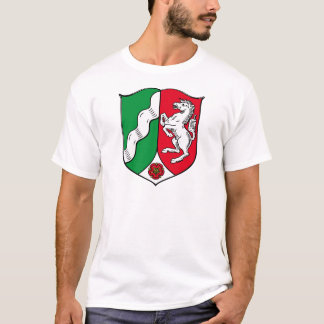 North Rhine Westphalia (Germany) Coat of Arms T-Shirt