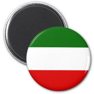 North Rhine Westphalia, Germany flag 2 Inch Round Magnet