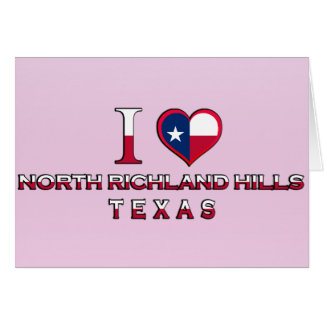 North Richland Hills, Texas Greeting Cards