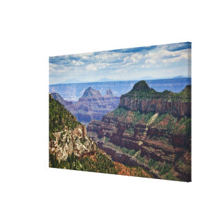 North Rim Gran Canyon - Grand Canyon National Canvas Print