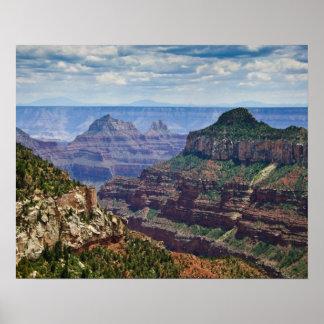 North Rim Gran Canyon - Grand Canyon National Poster