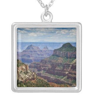 North Rim Gran Canyon - Grand Canyon National Silver Plated Necklace