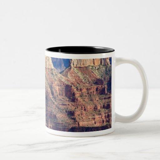 North Rim Grand Canyon - Grand Canyon National Two-Tone Coffee Mug