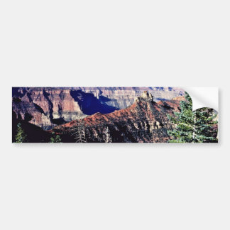 North Rim Of Grand Canyon From Encantadora Point Bumper Stickers