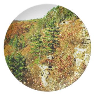 North Rim view Pa Grand Canyon by ArtRave Dinner Plate