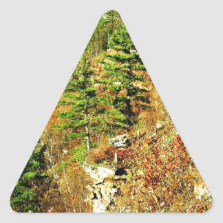 North Rim view Pa Grand Canyon by ArtRave Triangle Sticker