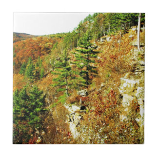 North Rim view Pa Grand Canyon by Ave Hurley Ceramic Tile