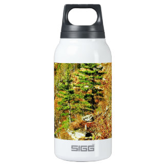 North Rim view Pa Grand Canyon by Ave Hurley Insulated Water Bottle