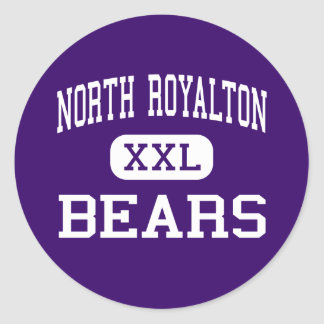 North Royalton - Bears - High - North Royalton Classic Round Sticker