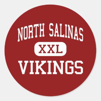 North Salinas - Vikings - High - Salinas Classic Round Sticker