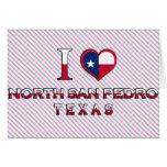 North San Pedro, Texas Card