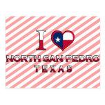 North San Pedro, Texas Postcard