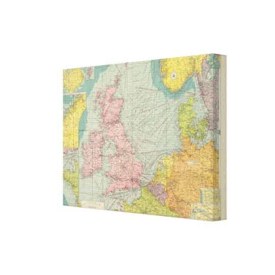North Sea Canvas Print