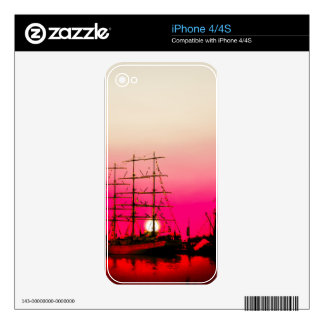 North Sea   Romantic - Bremerhaven Skins For The iPhone 4