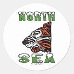 North Sea Tiger,Oil Field Sticker,Oil Rigs,Oil