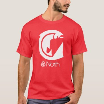 ridetrimet North Sector Symbol - Salmon T-Shirt