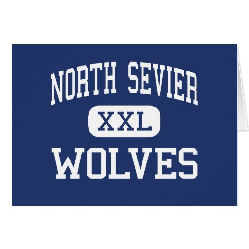 North Sevier Wolves Middle Salina Utah Card