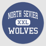 North Sevier Wolves Middle Salina Utah Stickers