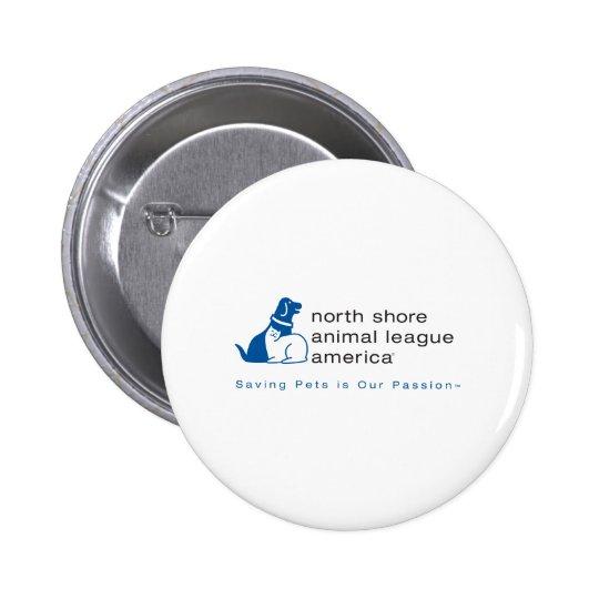 North Shore Animal League Branded Button