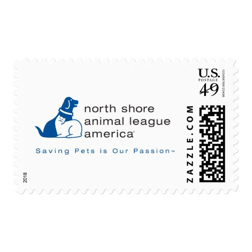 North Shore Animal League Branded Stamp