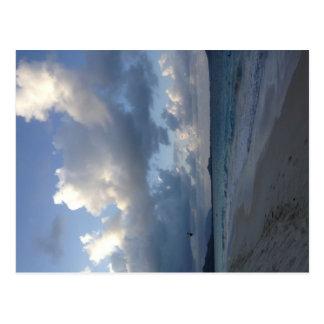 North Shore Beach Postcard