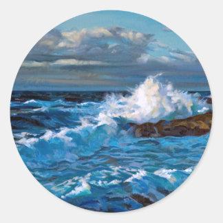 North Shore Classic Round Sticker