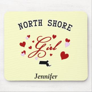 North Shore Girl Mousepad