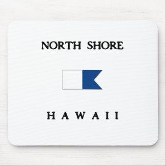 North Shore Hawaii Alpha Dive Flag Mouse Pads