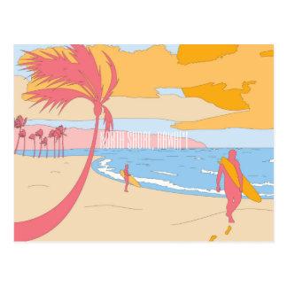 North Shore, Hawaii Postcard