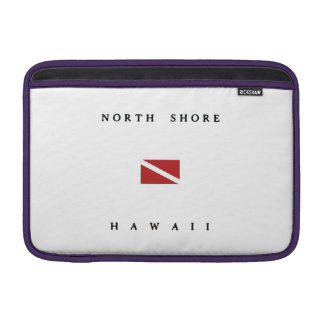 North Shore Hawaii Scuba Dive Flag Sleeve For MacBook Air