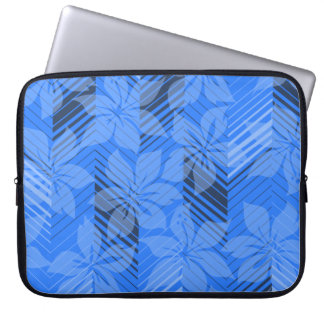 North Shore Hawaiian Hibiscus Neoprene Wetsuit Computer Sleeve