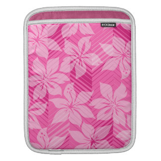 North Shore Hawaiian Hibiscus Rickshaw iPad Case