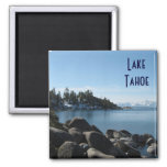 North Shore Lake Tahoe, Incline Village, Nevada 2 Inch Square Magnet
