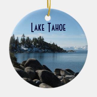 North Shore Lake Tahoe, Incline Village, Nevada Ceramic Ornament