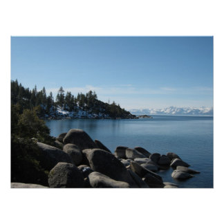North Shore Lake Tahoe, Incline Village, Nevada Poster