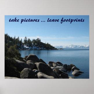 North Shore Lake Tahoe, Incline Village, Nevada Poster
