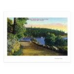 North Shore Marine Drive View of Garrow Bay Postcard