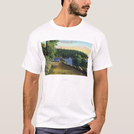 North Shore Marine Drive View of Garrow Bay T-Shirt