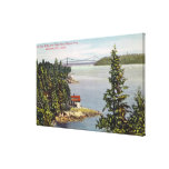 North Shore Marine Drive View of Lions Gate Canvas Prints