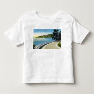 North Shore Marine Drive View of Point Atkinson T Shirt