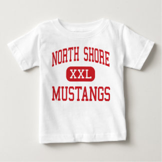 North Shore - Mustangs - High - Galena Park Texas Baby T-Shirt