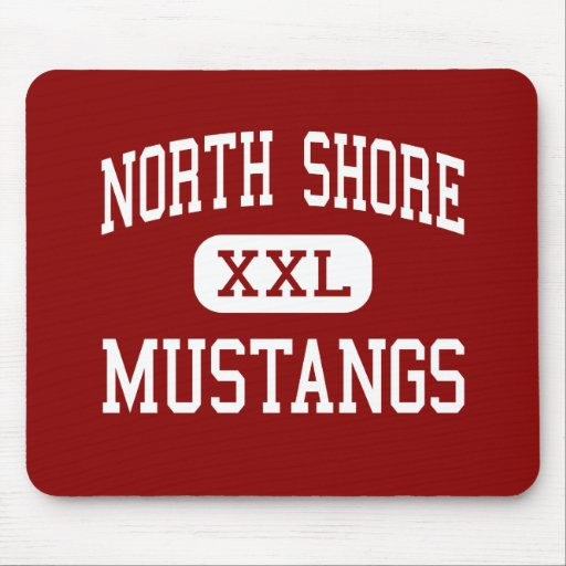 North Shore - Mustangs - High - Galena Park Texas Mouse Pad