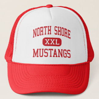 North Shore - Mustangs - High - Galena Park Texas Trucker Hat