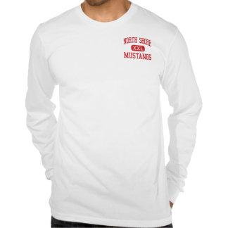 North Shore - Mustangs - High - Houston Texas Tee Shirts