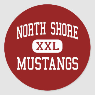 North Shore - Mustangs - Middle - Houston Texas Sticker