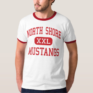 North Shore - Mustangs - Middle - Houston Texas T-Shirt